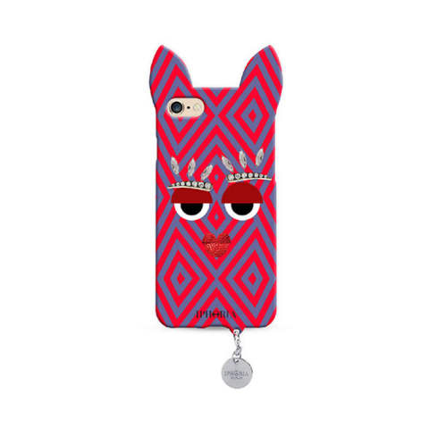 Wild Case Ibiza Monster with Silver Pendant for iPhone 7/8