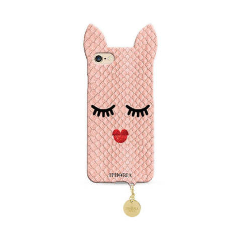 Wild Case Rose Sleeping Beauty with Golden Pendant for iPhone 7/8