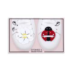 Sneaker Patch Set Flower & Ladybug