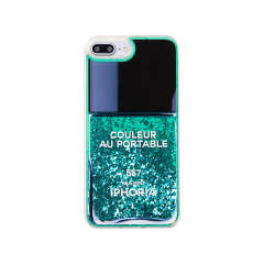 Liquid Case for Apple iPhone 7+ / 8+ - Nail Polish Turquoise