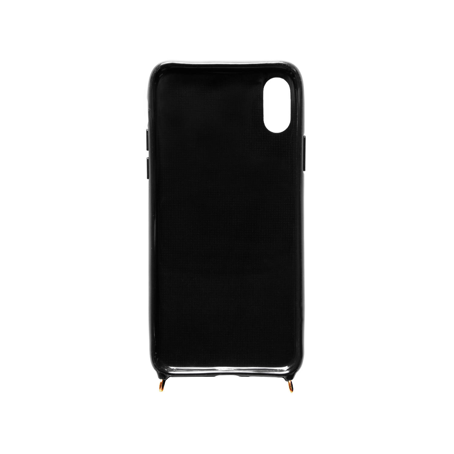 Necklace Case for Apple iPhone X/XS - Black Sky
