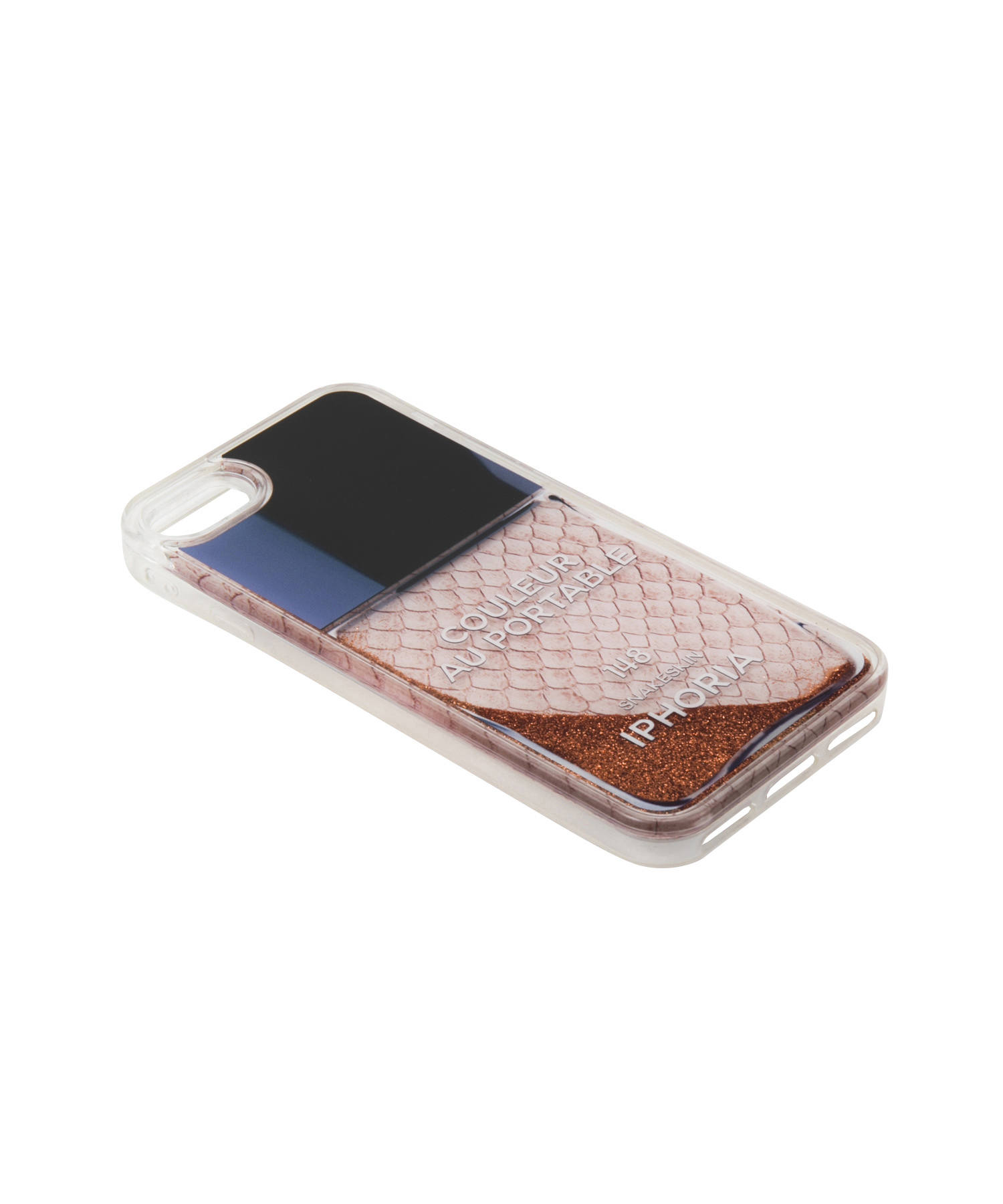 Liquid Case for Apple iPhone 7/8/SE(第2世代) - Rose Snake Classic Nail Polish