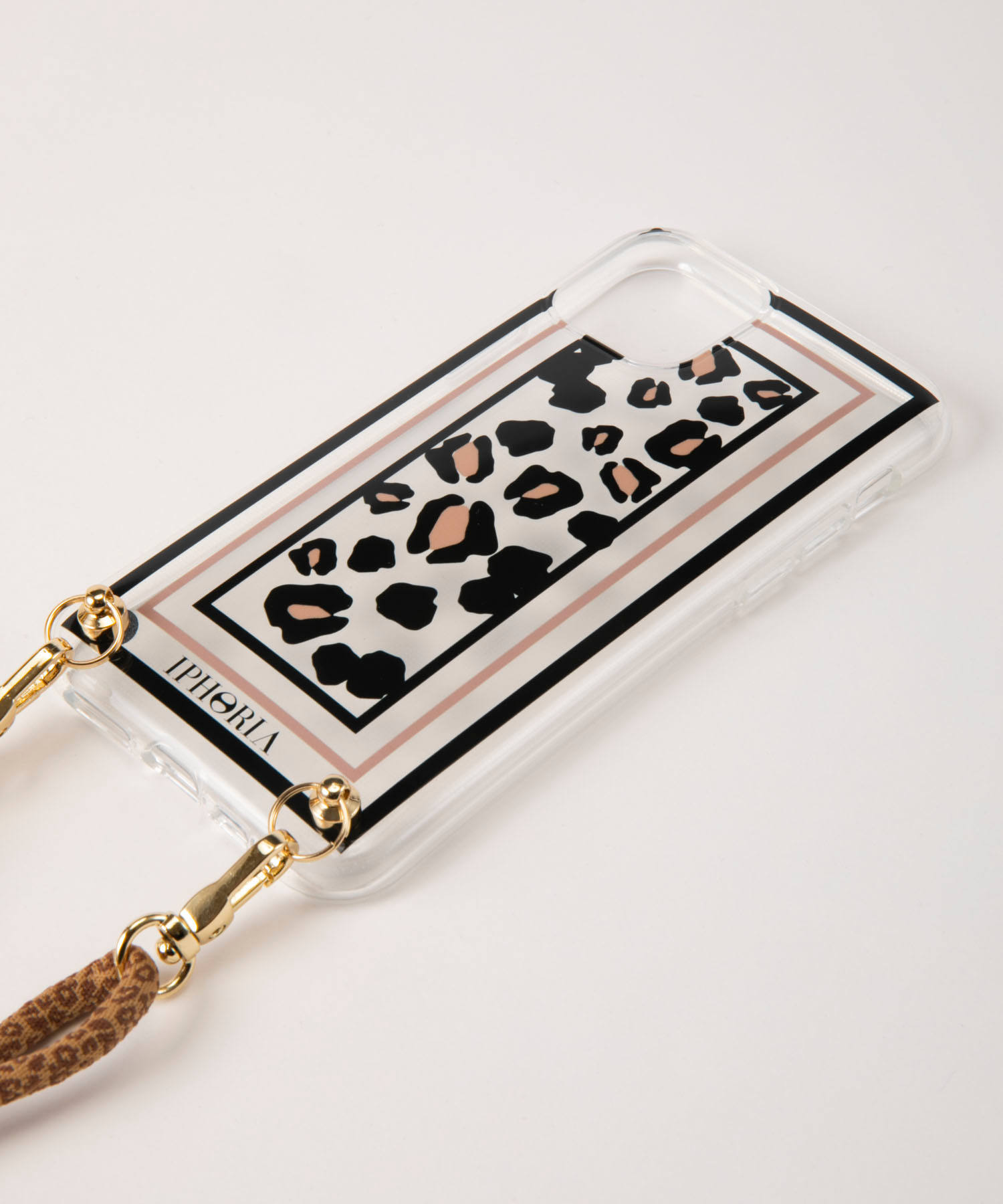 Necklace Case for Apple iPhone 11 Pro - Transparent Leo