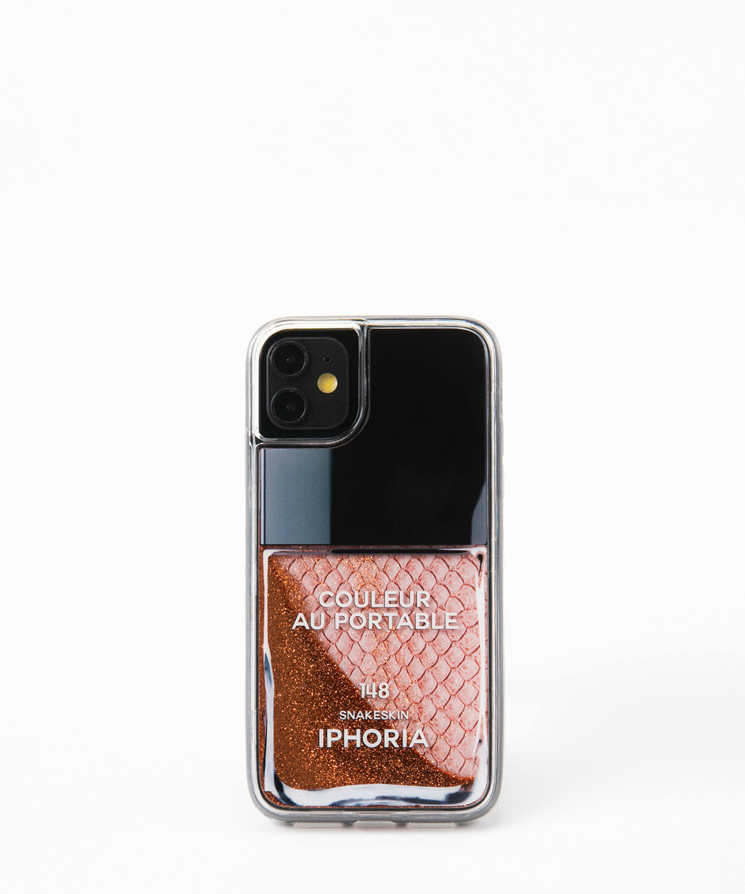 Liquid Case for Apple iPhone 11 - Rose Snake Classic Nail Polish