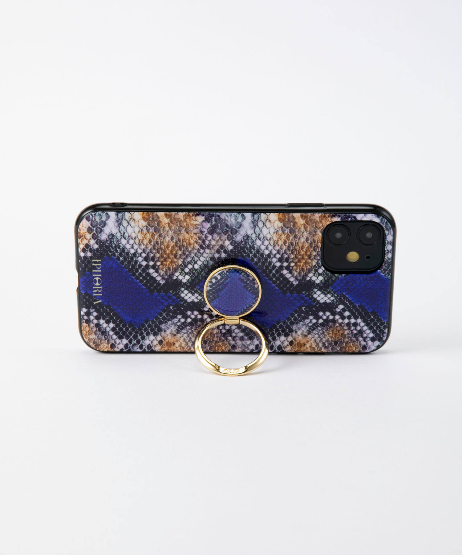 Case for Apple iPhone 11 - Gold Ring with Wild Snake