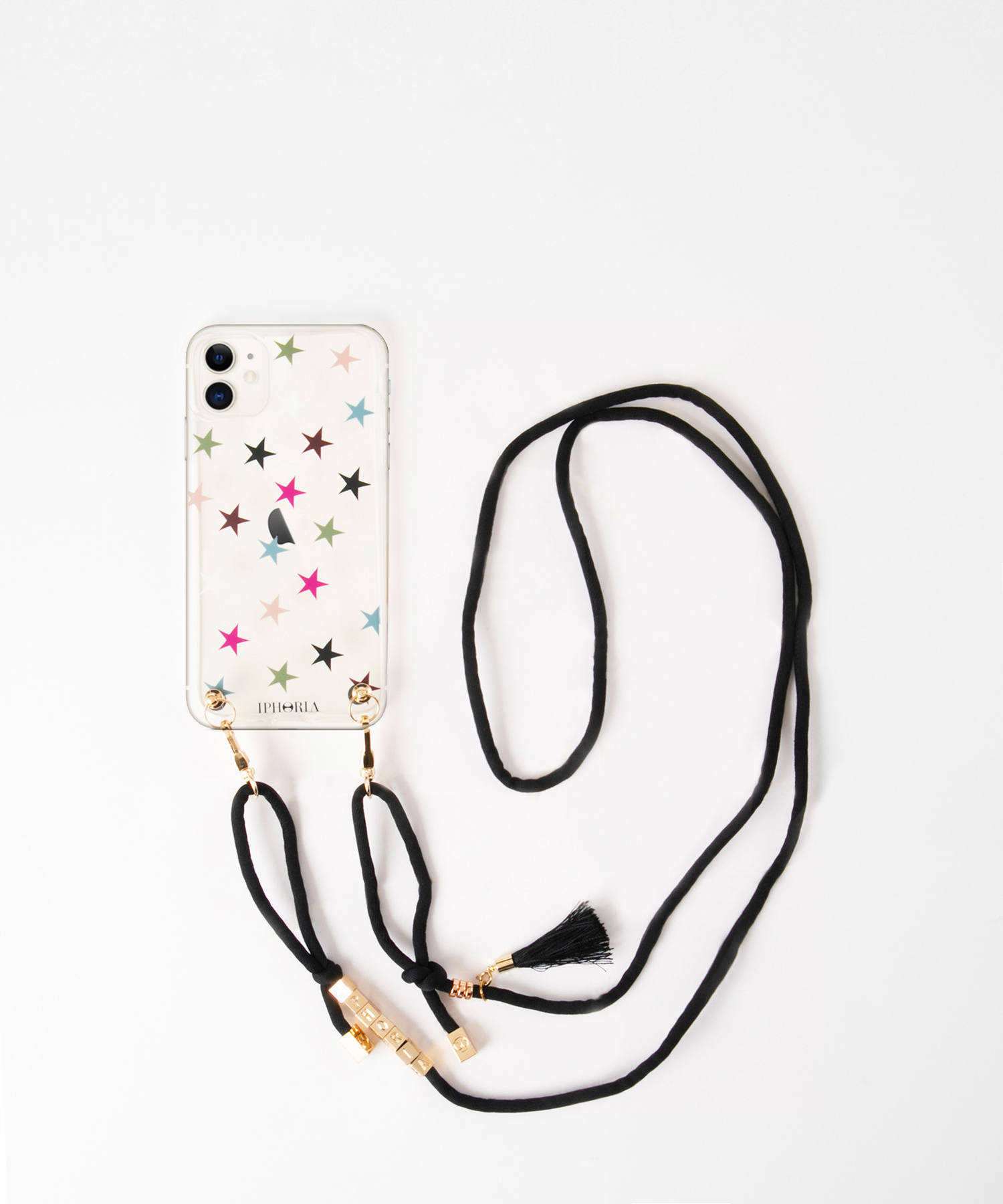 Necklace Case for Apple iPhone 11 - Colorful Stars