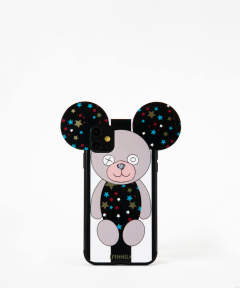 Case for Apple iPhone 11 - Teddy Case Stars B&W Stripes