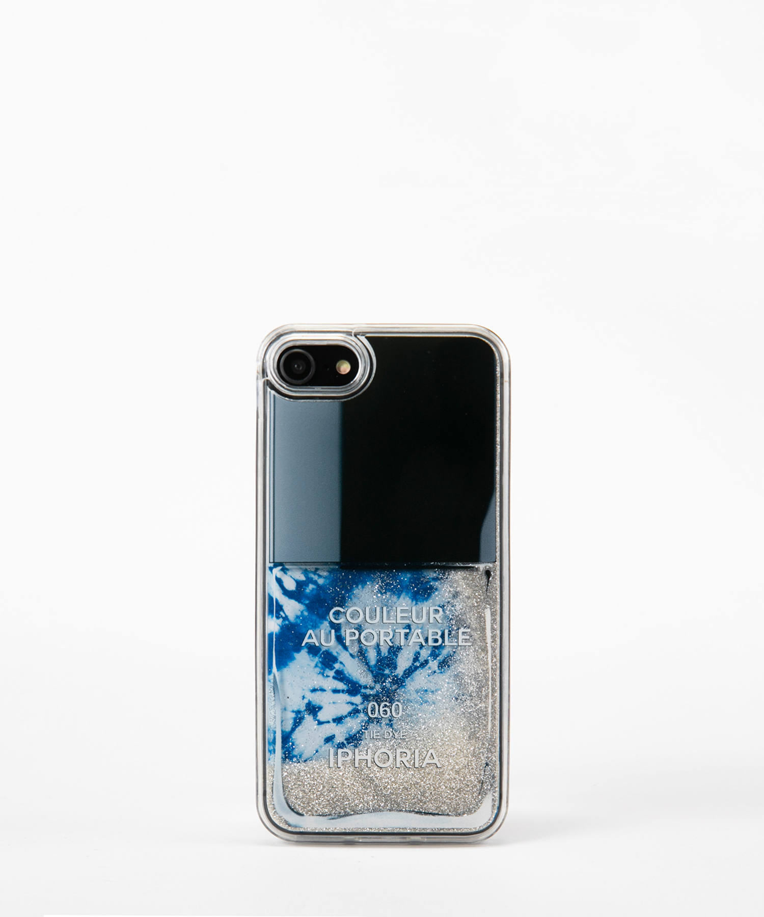 Liquid Case for Apple iPhone 7/8 - Tie Dye Nailpolish